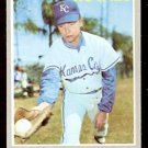 KANSAS CITY ROYALS MIKE FIORE 1970 TOPPS # 709 NR MT