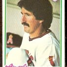 CALIFORNIA ANGELS TERRY HUMPHREY 1978 TOPPS # 71 EX