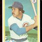 CHICAGO CUBS STEVE ONTIVEROS 1978 TOPPS # 76 EX/EM