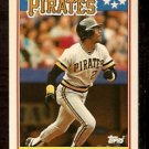 PITTSBURGH PIRATES BARRY BONDS 1988 TOPPS AMERICAN # 5