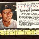BOSTON RED SOX HAYWOOD SULLIVAN 1961 POST CEREAL # 56