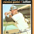 SAN DIEGO PADRES CLARENCE GASTON 1971 TOPPS # 25