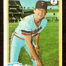 MINNESOTA TWINS DON CARRITHERS 1978 TOPPS # 113 EX/EM