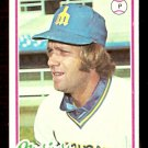SEATTLE MARINERS JOHN MONTAGUE 1978 TOPPS # 117 EX