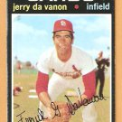 ST LOUIS CARDINALS JERRY DaVANON 1971 TOPPS # 32 good