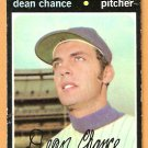 NEW YORK METS DEAN CHANCE 1971 TOPPS # 36 good