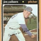 CHICAGO CUBS JIM COLBORN 1971 TOPPS # 38 good
