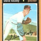 CALIFORNIA ANGELS STEVE KEALEY 1971 TOPPS # 43 good