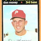 PHILADELPHIA PHILLIES DON MONEY 1971 TOPPS # 49 EX