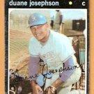 CHICAGO WHITE SOX DUANE JOSEPHSON 1971 TOPPS # 56 good