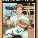 PHILADELPHIA PHILLIES MIKE COMPTON 1971 TOPPS # 77 good