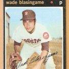 HOUSTON ASTROS WADE BLASINGAME 1971 TOPPS # 79 VG/EX