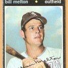 CHICAGO WHITE SOX BILL MELTON 1971 TOPPS # 80 good