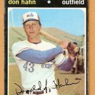 MONTREAL EXPOS DON HAHN 1971 TOPPS # 94 G/VG