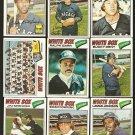 1977 TOPPS CHICAGO WHITE SOX TEAM LOT (20) GOSSAGE DENT LEMON GARR +