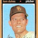 SAN DIEGO PADRES TOM DUKES 1971 TOPPS # 106 good