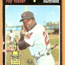 CLEVELAND INDIANS ROY FOSTER 1971 TOPPS # 107 good