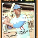 LOS ANGELES DODGERS MANNY MOTA 1971 TOPPS # 112 NR MT