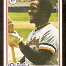 BALTIMORE ORIOLES AL BUMBRY 1978 TOPPS # 188 NR MT
