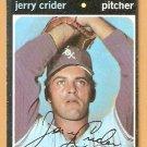 CHICAGO WHITE SOX JERRY CRIDER 1971 TOPPS # 113 VG