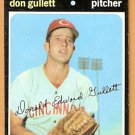 CINCINNATI REDS DON GULLETT 1971 TOPPS # 124 VG