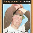 SAN DIEGO PADRES DANNY COOMBS 1971 TOPPS # 126 good