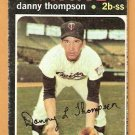 MINNESOTA TWINS DANNY THOMPSON 1971 TOPPS # 127 good