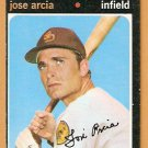 SAN DIEGO PADRES JOSE ARCIA 1971 TOPPS # 134 VG/EX