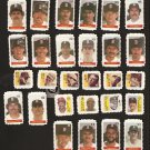 28 DIFF 1983 BOSTON HERALD RED SOX STAMPS CY YOUNG JIMMIE FOXX LEFTY GROVE JOE CRONIN JIMMY COLLINS