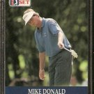 MIKE DONALD 1990 PRO SET PGA TOUR CARD # 28