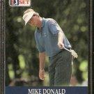 MIKE DONALD 1990 PRO SET PGA TOUR CARD # 28