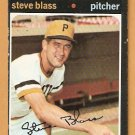PITTSBURGH PIRATES STEVE BLASS 1971 TOPPS # 143 VG