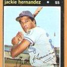 KANSAS CITY ROYALS JACKIE HERNANDEZ 1971 TOPPS # 144 EX