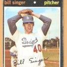 LOS ANGELES DODGERS BILL SINGER 1971 TOPPS # 145 good