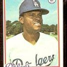 LOS ANGELES DODGERS MANNY MOTA 1978 TOPPS # 228 EX/EM
