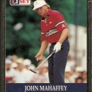 JOHN MAHAFFEY 1990 PRO SET PGA TOUR CARD # 38