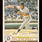 NEW YORK METS DALE MURRAY 1979 OPC O PEE CHEE # 198 VG