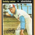 MONTREAL EXPOS BOBBY WINE 1971 TOPPS # 171 EM/NM