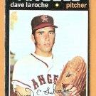 CALIFORNIA ANGELS DAVE LaROCHE 1971 TOPPS # 174 good