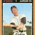 DETROIT TIGERS AL KALINE 1971 TOPPS # 180 good