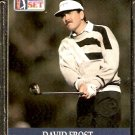 DAVID FROST 1990 PRO SET PGA TOUR CARD # 58