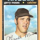 CALIFORNIA ANGELS GERRY MOSES 1971 TOPPS # 205 EX