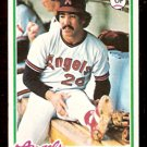 CALIFORNIA ANGELS GIL FLORES 1978 TOPPS # 268 VG+