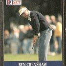BEN CRENSHAW 1990 PRO SET PGA TOUR CARD # 73
