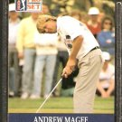 ANDREW McGEE 1990 PRO SET PGA TOUR CARD # 74