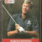 HAROLD HENNING 1990 PRO SET PGA TOUR CARD # 76