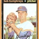 MILWAUKEE BREWERS BOB HUMPHREYS 1971 TOPPS # 236 VG/EX