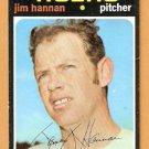 DETROIT TIGERS JIM HANNAN 1971 TOPPS # 229 VG