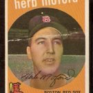 BOSTON RED SOX HERB MOFORD 1959 TOPPS # 91 fair/good