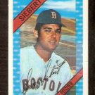 BOSTON RED SOX SONNY SIEBERT 1972 KELLOGG'S # 36